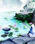 【丁香•祝福丁香】水边的诱惑(散文)